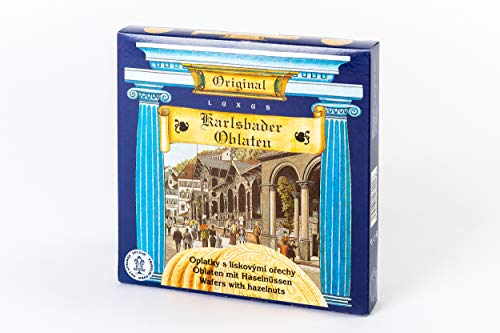 5 Packungen Karlsbader Oblaten mit Haselnüssen (5 x 150 g)