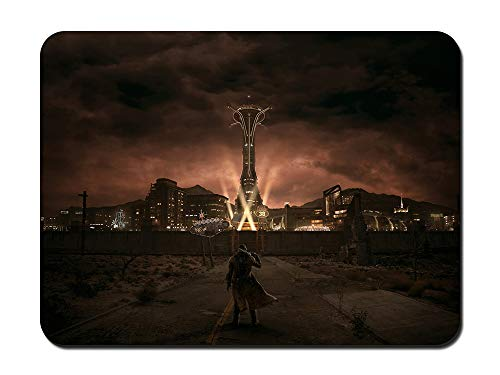 Fallout New Vegas Mouse Pad Gaming Mouse Pad Non-Slip Mouse Pad (10.24'x8.27')