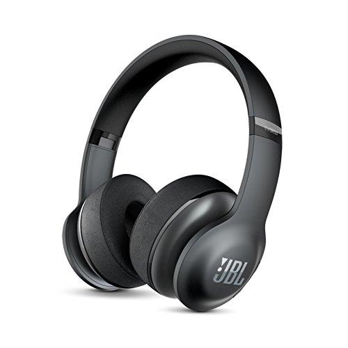 JBL EVEREST 300 ワイヤレスヘッドホン Bluetooth 密閉ダイナミック型オンイヤー ブラック V300BTBLKGP 【...