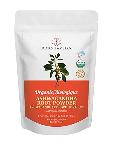 Aarshaveda Organic Ashwagandha Root Powder 200 Gm