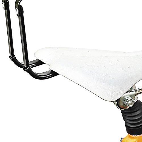 Relaxdays Fahrradaufhängung, Fahrradlift, bis 20 kg, Fahrrad Deckenhalter, mit Seilzug, für Garage und Keller, schwarz - 6