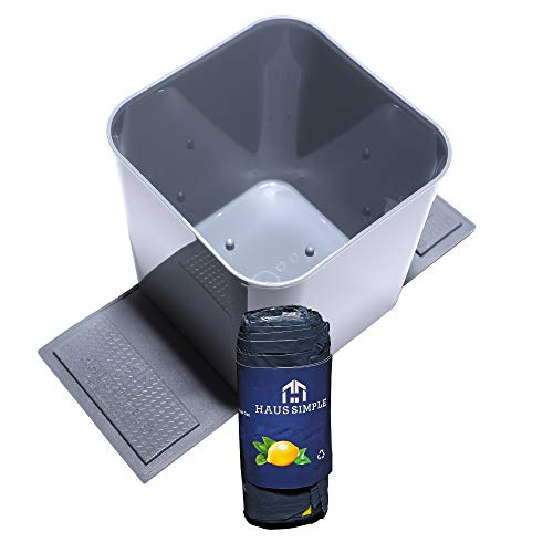 Product Image of the HauseSimple Spill-Proof Auto Trash Can