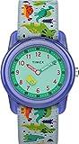 Timex Orologio Analog 28 mm con Cinturino in Tessuto Elastico, Quarzo, Unisex Bambini, TW7C77300