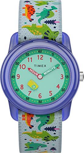 Timex - Reloj de Cuarzo para niños, Correa Textil, Sumergible a 30 Metros