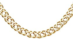Elegantly crafted in 9 ct yellow gold for a warm and classic tone Double curb chain length 20 inch, fastened with a fish hook clasp Citerna boasts classic gold and silver jewellery that is both versatile and timeless Presented in a Citerna branded gi...