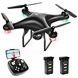 SNAPTAIN SP600 WiFi FPV Drone with 720P HD Camera, Two 1600mAh Modular Battery