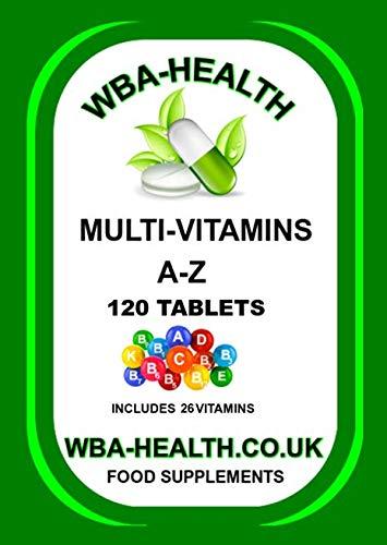 Multi-Vitamins 120 Tablets (26 Vitamins)