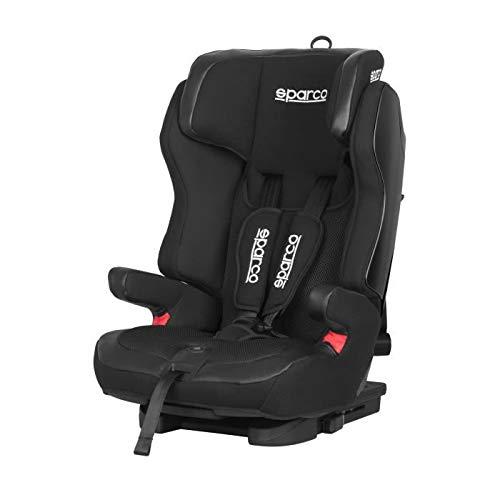 SPARCO SK700BKBK Kindersitz SK700 Gruppe 1/2/3 (9/36 kg), Isofix schwarz