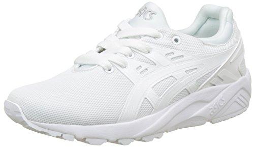 Asics Gel-Kayano Trainer EVO GS, Zapatillas Unisex Niños, Blanco (White/White 0101), 37 EU