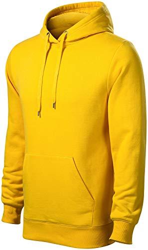 Malfini Męska bluza z kapturem bez zamka błyskawicznego