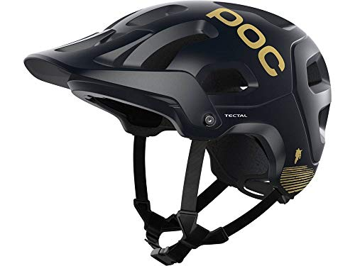 POC Tectal Fabio Edition Helm Uranium Black matt/Gold Kopfumfang 59-62cm 2021 Fahrradhelm