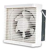 SCPQS Exhaust Fan-Exhaust Exhaust Fan Kitchen Wall Type Louver Semi-Plastic Strong Ventilation Fan