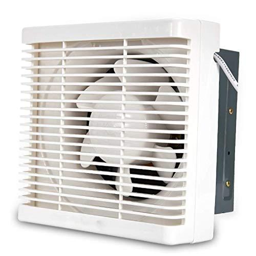 ZSQAW Ventilador de Escape-Escape Ventilador de Escape Tipo de Pared de Cocina Rejilla Semi-plástico Ventilador de ventilación Fuerte