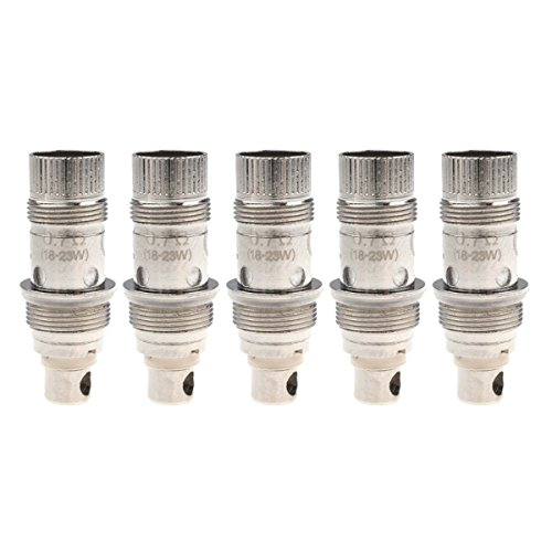 Riccardo BVC Coils - 0.7 Ohm, Nautilus Mini, K3 Clearomizer, Aspire Verdampferköpfe für e-Zigarette, 5 Stück