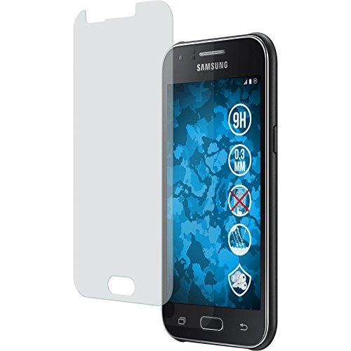 PhoneNatic 1 x Glas-Folie matt kompatibel mit Samsung Galaxy J1 (2015 - J100) - Panzerglas für Galaxy J1 (2015 - J100)