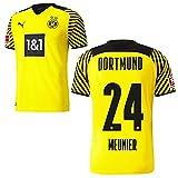 PUMA Borussia Dortmund BVB Heimtrikot 2021 2022 Home Trikot Sponsor BL Logo Herren Thomas Meunier 24 Gr XXL
