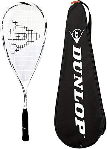 Dunlop Max Lite Squash racket gemaakt met 3squashbällen