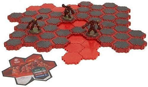 Web oficial Heroscape Expansion Set  Volcarren Volcarren Volcarren Wasteland  salida