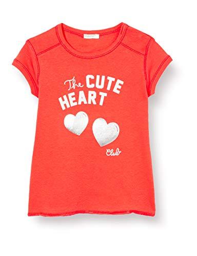 United Colors of Benetton T-Shirt Camiseta de Tirantes, Rojo (Bittersweet 1v1), 58 (Talla del Fabricante: 62) para Bebés