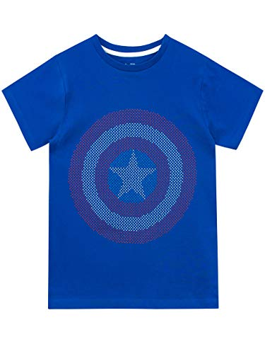 Marvel Camiseta de Manga Corta para...