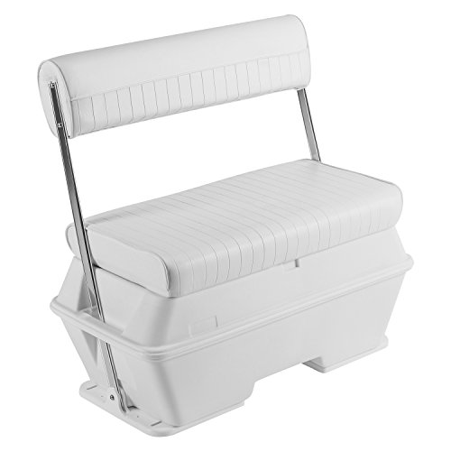 Wise 8WD159-784 Swingback Cooler Seat, 50-Quart, Cuddy Brite White