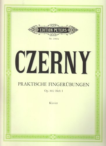 Praktische Fingeruebungen 1 Op 802. Klavier