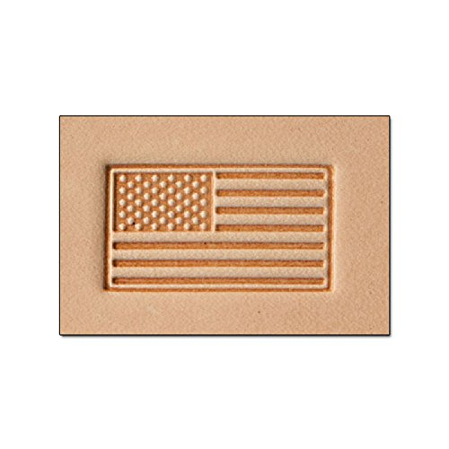 Tandy Leather Craftool� 3-D Stamp American Flag 8580-00