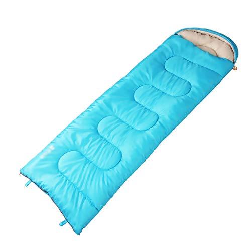 Outdoor slaapzak slaapzak outdoor camping dutje vrije tijd lente en herfst geschikt voor 5-15 graden Celsius kan dubbel worden geslapen, 220 x 75 cm A