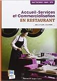 Accueil-Service et Commercialisation en restaurant - Bac Techno, MAN, BTS de Jean-Luc Frusetta,Bruno Morlet ( 13 mai 2013 ) - 13/05/2013