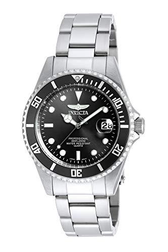 Invicta Men's Pro Diver 37.5mm Stainless Steel Quartz Watch...