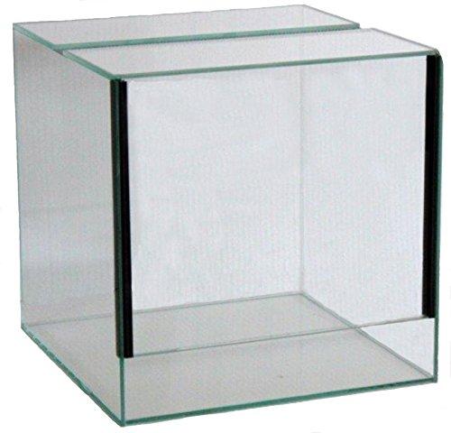 FavoPet Terrarium mit Falltür (20x20x20 cm)