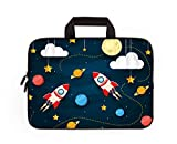 11' 11.6' 12' 12.1' 12.5 Inch Laptop Carrying Bag Case Notebook Ultrabook Bag Tablet Cover Neoprene Sleeve Briefcase Bag Compatible with Samsung Google Acer HP DELL Asus (Cool Rocket)