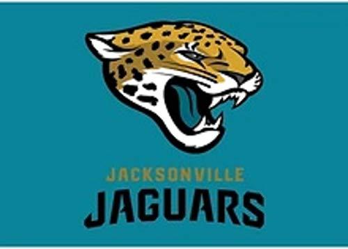 Vintage Hoed Bedrijf Jacksonville Jaguars 3x5 Voeten Vlag met Gouden Grommets - American Football NFL