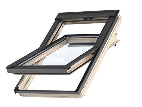 Velux - Ventana para tejado (55 x 78) con marco de madera
