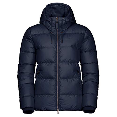 Jack Wolfskin Damen Crystal Palace Jacket W Daunenjacke, Midnight Blue, M