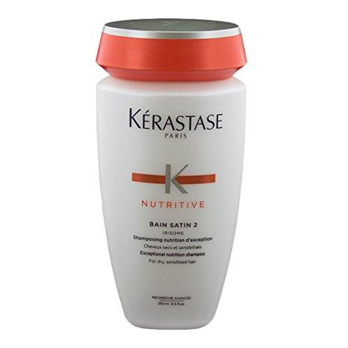 Kérastase Nutritive Bain Satin 2 Irisome- Champú Nutritivo para Cabellos Secos 250 ml