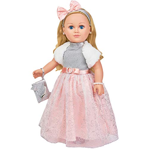 My Life As 18' Poseable Winter Princess Doll, Blonde Hair with a Soft Torso