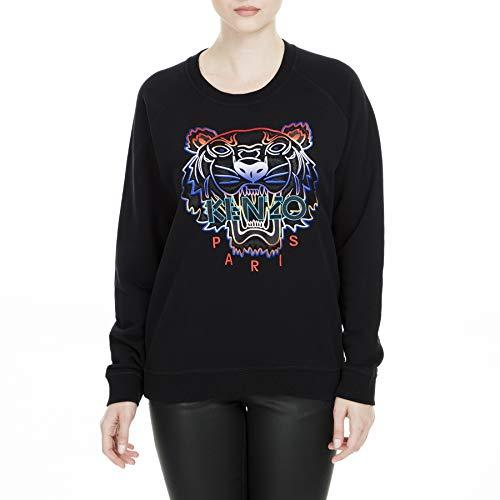 Kenzo Sweatshirt Damen Tiger Multi Colors Schwarz (L)