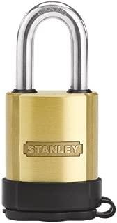 Stanley Hardware S828-194 CD8822 All-Weather Padlock - Solid Brass in Brass , 50mm Width