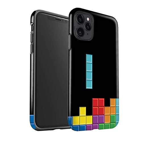 eSwish telefoonhoesje/Cover/Skin/IP-3DTBG / Retro Arcade Games Collectie Apple iPhone 11 Pro Max Blok puzzel