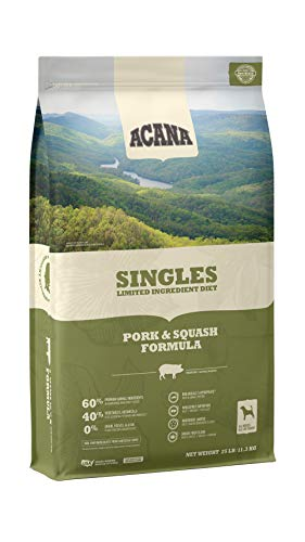 ACANA Singles Limited Ingredient Dry Dog Food, Pork & Squash, Biologically Appropriate & Grain Free