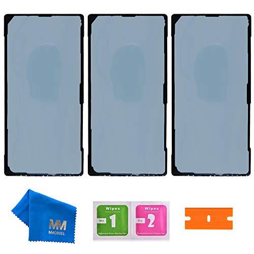 MMOBIEL 3X Pegatina Adhesiva para Cubierta Trasera para batería Compatible con Samsung Galaxy Note 20 Ultra N985 / Note 20 Ultra 5G N986 2020-6.9 Inch Incl. Herramientas