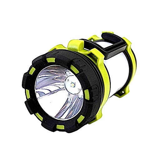 Linterna de camping LED recargable, 1000 lúmenes, ultra potente, 6 modos IPX5,...