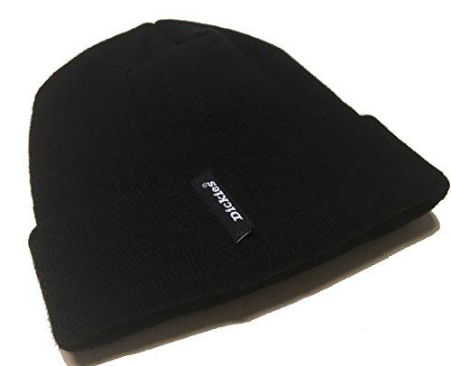 Dickies Strickmütze HA180 Black, 100% Acryl, Thinsulate gefüttert, Unisex (Schwarz)