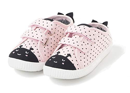 TEX - Zapatillas De Lona Animales para Niña, Rosa, 25 EU