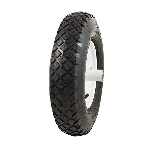 Marathon 4.80/4.00-8' Pneumatic (Air Filled) Tire on Wheel, 6' Hub, 5/8' Bearings, Knobby Tread