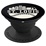 Baseball Season St. Louis The lou Fan Hometown shirt PopSockets Grip and Stand for Phones and Tablets