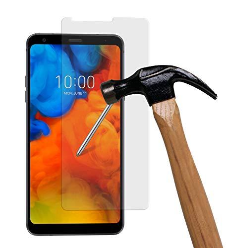 yayago Bildschirmschutzglas 0,26 MM Bildschirmschutzfolie für LG Q Stylus Glasfolie Hartglas 9H (bewusst Kleiner als das Bildschirm, da Dieses gewölbt ist)