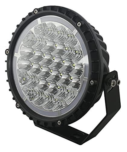 Foco LED Potente 64W Delantero Driving 6.080 Lúmenes · 2 Funciones Luz Larga   Corta · Luz Largo Alcance · IP67 · 12 LEDs Combo · Camión, Coche 4x4, Tractor