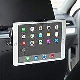 Soporte Tablet Coche, Soporte Giratorio Universal para teléfono iPad para Coche 360 Compatible con tabletas de 4 'a 11'